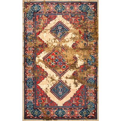 Kingston Beige Area Rug Rug Size: Rectangle 8 x 10