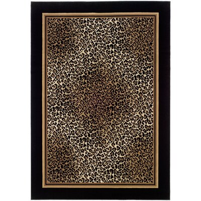 Amsbry Brown/Beige Area Rug Rug Size: Rectangle 2 x 37
