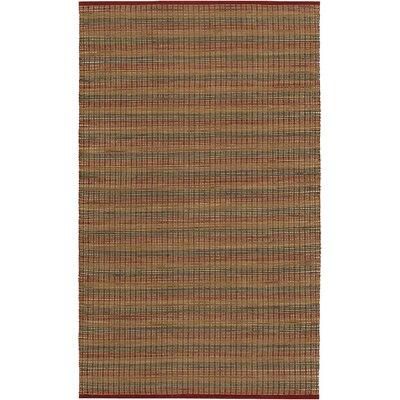 Sandrine Crimson Area Rug Rug Size: 6 x 9