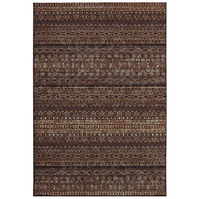 Char Red/Beige Rug Rug Size: Rectangle 92 x 129