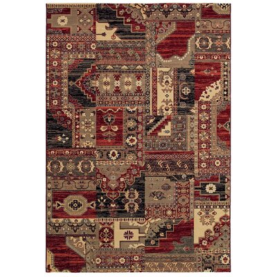 Amaranth Cream / Multi Moonlight Sonata Rug Rug Size: 710 x 109