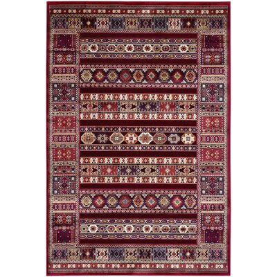 Francisca Ruby Jerrico Rug Rug Size: Rectangle 710 x 112