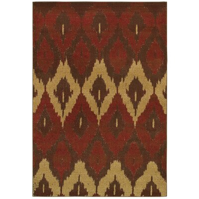 Kiesha Cultural Weave Maroon Area Rug Rug Size: Rectangle 99 x 13
