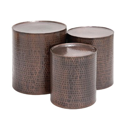 Atticus 3 Piece Coffee Table Set Color: Bronze