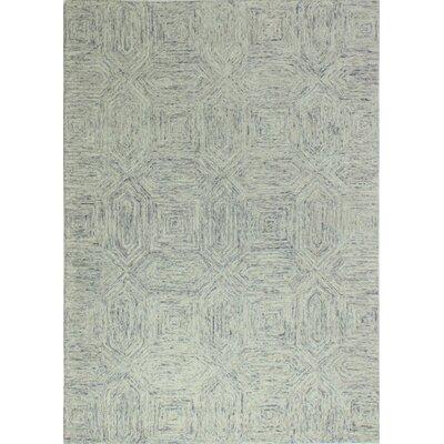 Asa Hand-Tufted Slate Area Rug Rug Size: 76 x 96