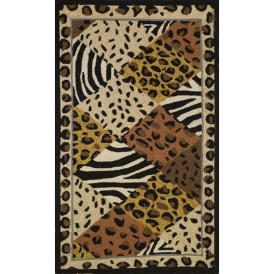 Rowland Animal Print Indoor/Outdoor Area Rug Rug Size: 3 x 5