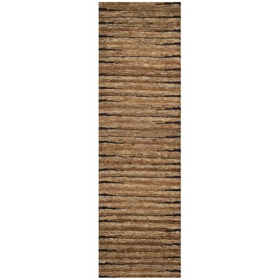 Ibrahim Brown Area Rug Rug Size: Runner 26 x 8