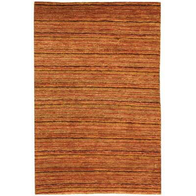 Elaine Contemporary Brown Area Rug Rug Size: 2 x 3