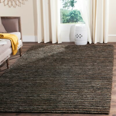Ibrahim Charcoal Area Rug Rug Size: Rectangle 8 x 10