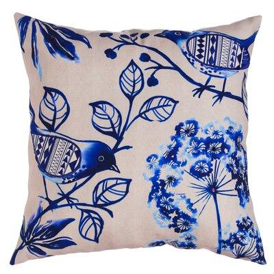 Shepherd Patterned Bird Indoor/Outdoor Throw Pillow