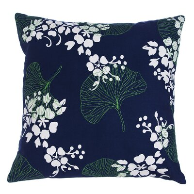 Frederick Gingko Indoor/Outdoor Throw Pillow