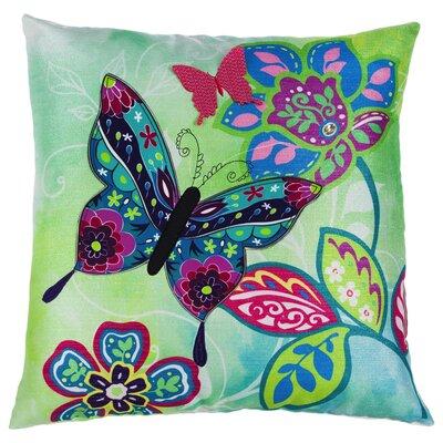 Chandler Bright Botanical Indoor/Outdoor Throw Pillow