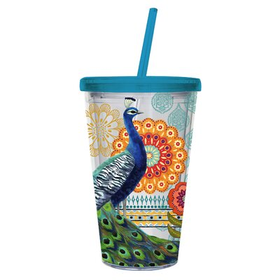 Shaw 17 oz. Insulated Cup with Straw BBMT8886 41621086