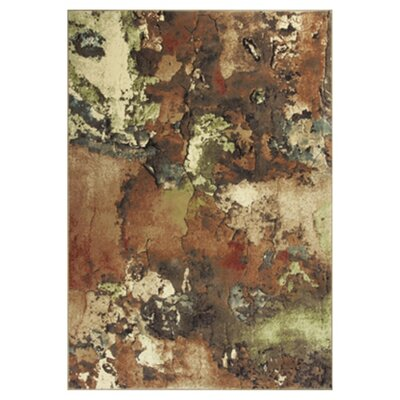 Macced Watercolors Area Rug Rug Size: 53 x 77