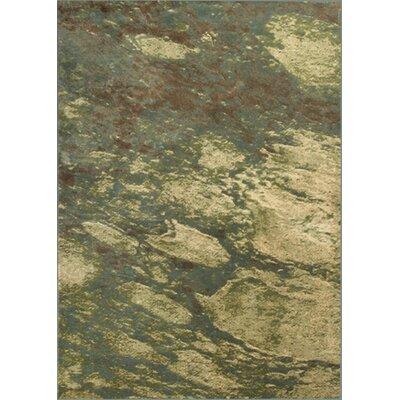 Macced Seafoam Palette Area Rug Rug Size: Runner 22 x 611