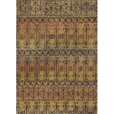 Meisha Syrian Gates Area Rug Rug Size: 33 x 53