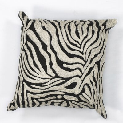 Hamilton Zebra Cotton Throw Pillow