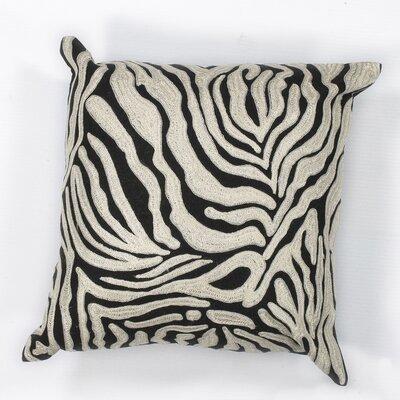 Hamilton Zebra Cotton Throw Pillow
