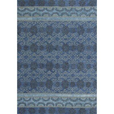 Meisha Blue Celestial Area Rug Rug Size: 33 x 53