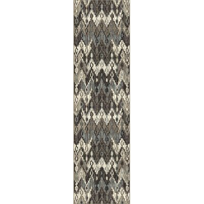 Ronald Chevron Area Rug Rug Size: Runner 2'2