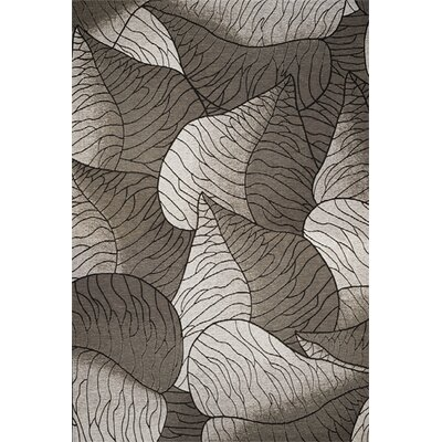Saratoga Grey & White Fauna Indoor/Outdoor Area Rug Rug Size: 81 x 112