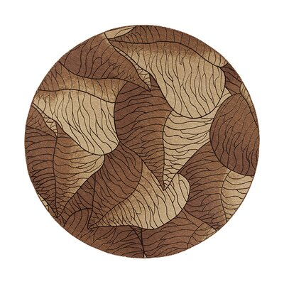New Haven Beige Fauna Indoor/Outdoor Area Rug Rug Size: 69 x 96
