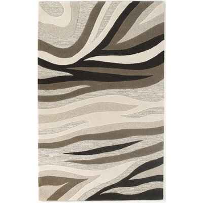 Alonzo Natural Sandstorm Area Rug Rug Size: 5 x 8