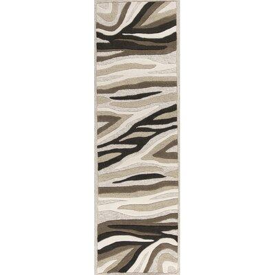 Alonzo Natural Sandstorm Area Rug Rug Size: Runner 23 x 76