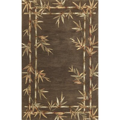 Chenai Bamboo Brown Area Rug Rug Size: Rectangle 53 x 83
