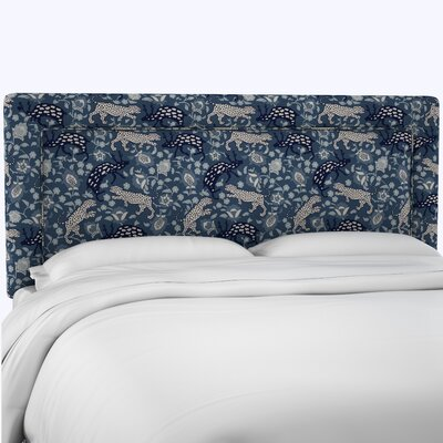 Fiesta Linen Upholstered Panel Headboard Size: King