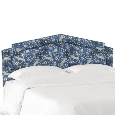 Bruce Linen Upholstered Panel Headboard Size: Twin