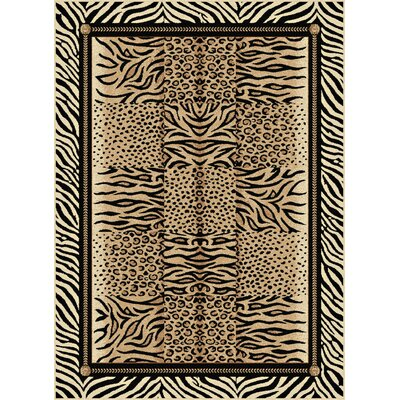 Carden Beige Area Rug Rug Size: Rectangle 53 x 73