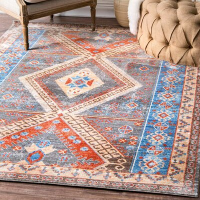 Lacey Gray Area Rug Rug Size: 710 x 1010