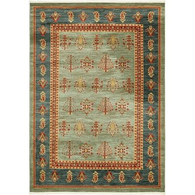 Virginia Light Blue Area Rug