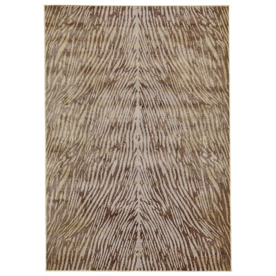 JoLinda Yellow/Dark Gold Area Rug Rug Size: 5 x 8