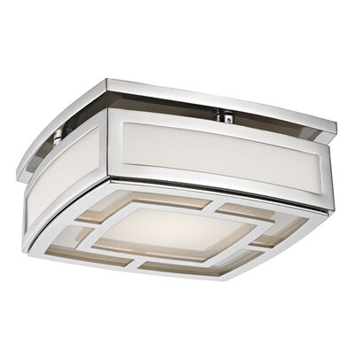 Bretta 1-Light LED Flush Mount Finish: Polished Nickel