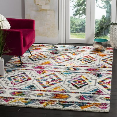 Breanna Shag Area Rug Rug Size: Rectangle 3 x 5