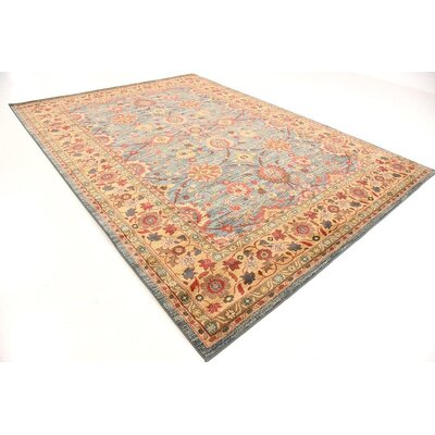 Sebou Blue Area Rug Rug Size: Rectangle 8 x 114