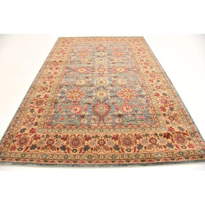 Willow Blue Indoor Area Rug Rug Size: 6 x 9