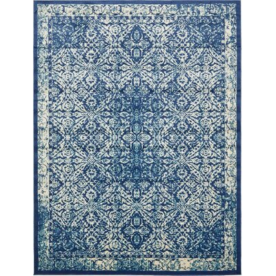 Jae Blue Indoor Area Rug Rug Size: Rectangle 10 x 13