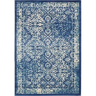 Jae Blue Indoor Area Rug Rug Size: 7 x 10