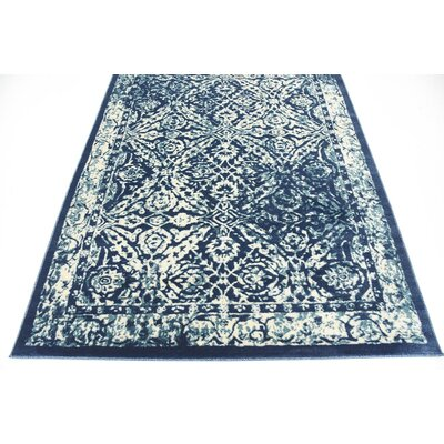 Jae Blue Indoor Area Rug Rug Size: Runner 3 x 13