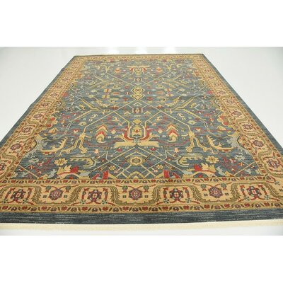 Tamoa Navy Blue Indoor Area Rug Rug Size: 9 x 12
