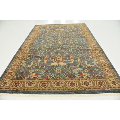 Tamoa Navy Blue Indoor Area Rug Rug Size: 7 x 10