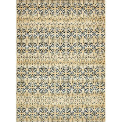 Victoria Beige Indoor/Outdoor Area Rug Rug Size: 10 x 12