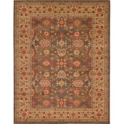 Willow Light Brown Area Rug Rug Size: 10 x 13