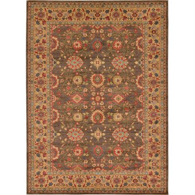 Willow Light Brown Area Rug Rug Size: 8 x 114