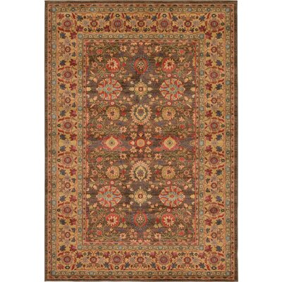 Willow Light Brown Area Rug Rug Size: 6 x 9