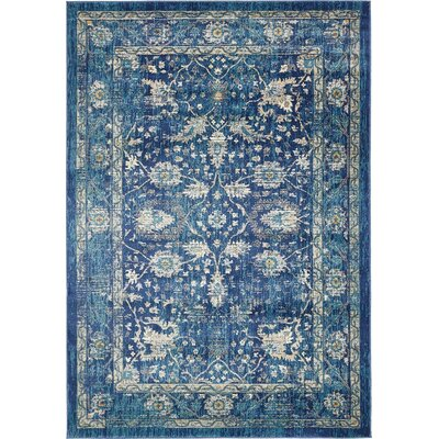 Jae Navy Blue Indoor Area Rug Rug Size: Rectangle 10 x 13