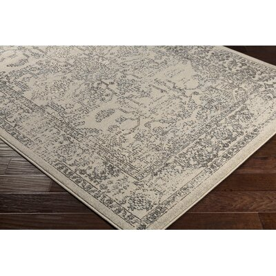 Cassian Camel/Taupe Area Rug Rug Size: Rectangle 53 x 76